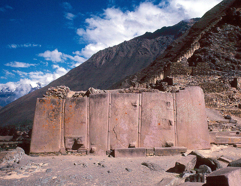 Evidence of Ancient Advanced Technology Ollantaytambo_w