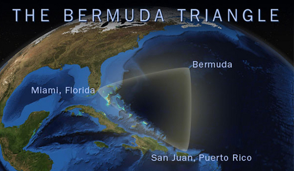 Discovery Channel Explorer Finds 'Ancient Alien Ship' Beneath Bermuda Triangle, Using Maps Made by NASA Bermuda-triangle-02