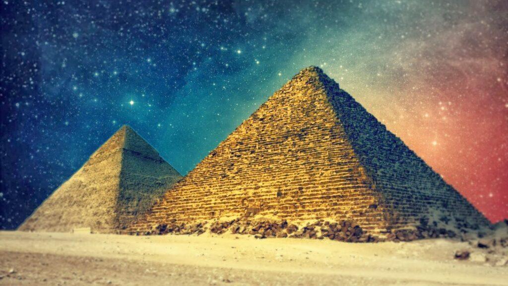 Egypt Pyramids Art