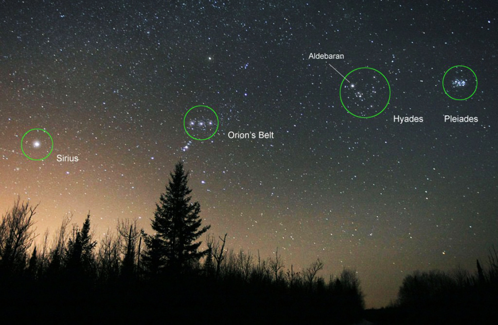 Deciphering Sirius and Orion