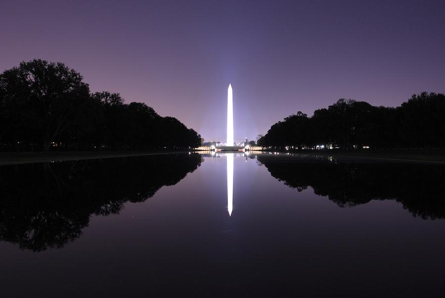 bigstockphoto_Washington_Monument_With_Night_918149