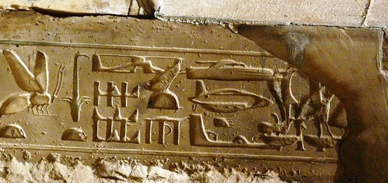 Mysteries of Abydos: Depictions of Egypt's flying machines?
