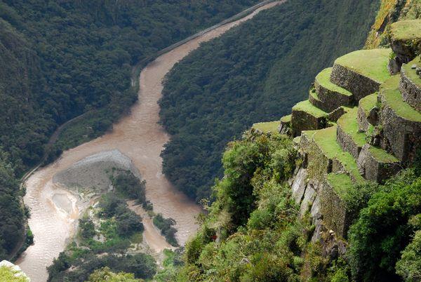The Urubamba river surrounding Machu Picchu. Image credit: unknown :(