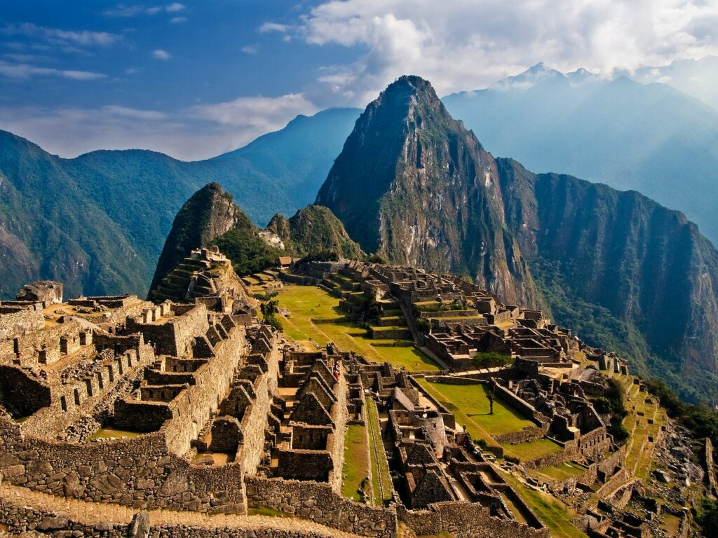 Early morning in wonderful Machu Picchu. Image credit: http://stock-free-images.net/