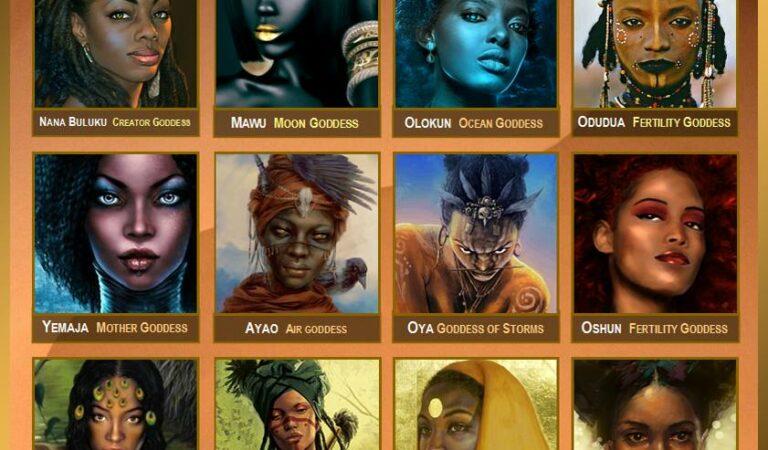 The 12 Goddesses Of Yoruba Mythology