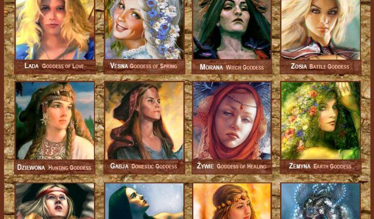 The Goddesses Of Slavic Mythology