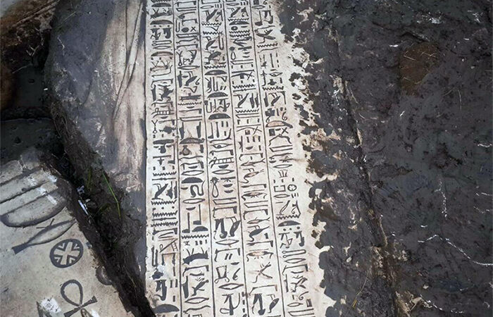 3,400-year-old temple unearthed in illegal Egypt dig