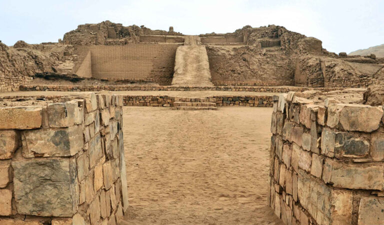 The Pyramids of Pachacamac