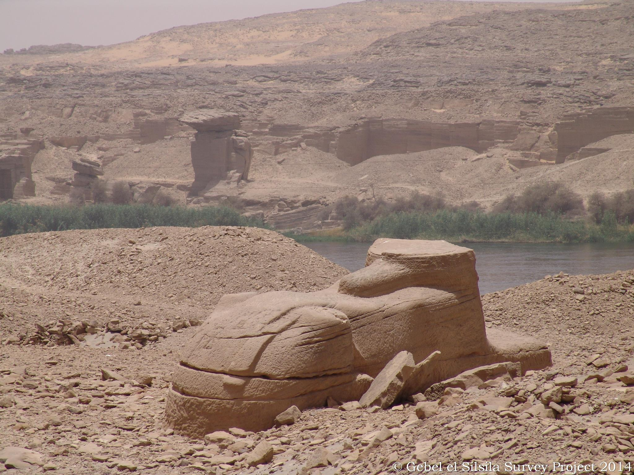 discovery of sphinx caused much debate over historians and archaeologists