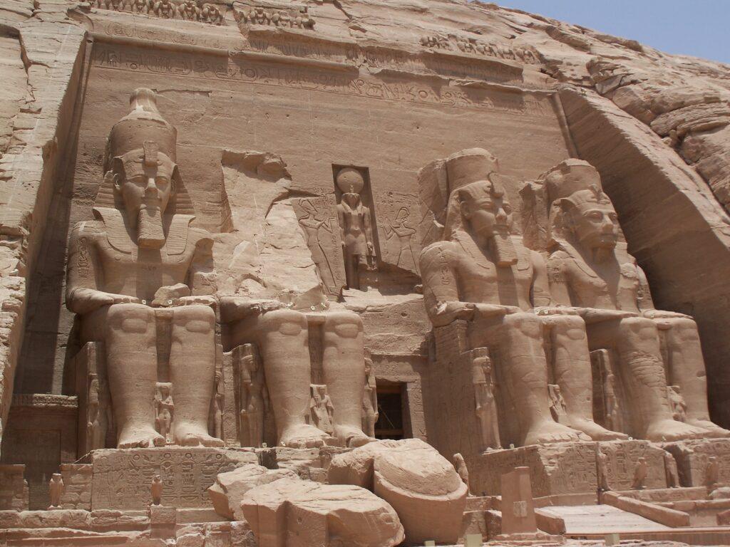 Abu Simbel Temple of Ramesses II. Image Credit: wikipedia