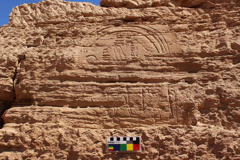 Gebel El Silsila discovery. Image  by Luxor Times