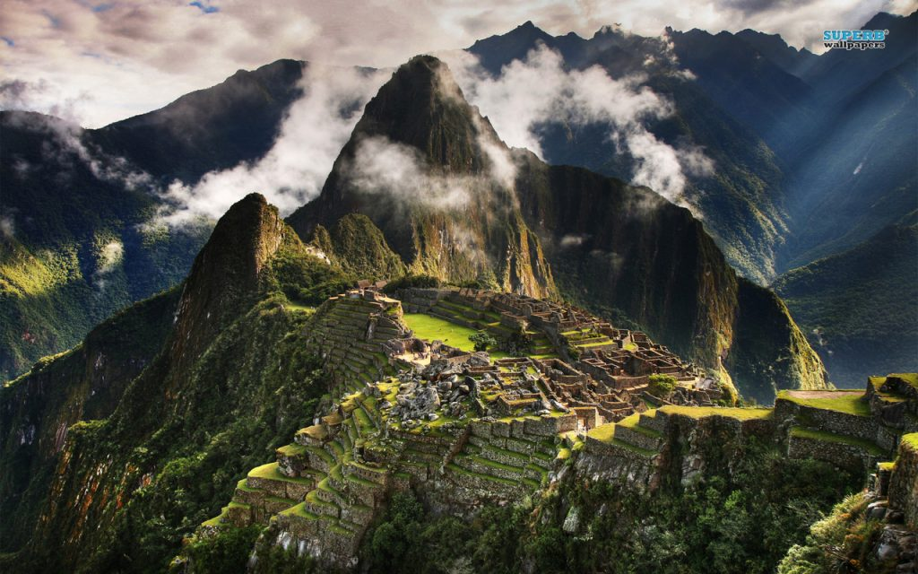 A view of Machu Picchu. Image credit: http://www.superbwallpapers.com/