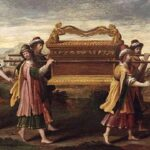 An illustration of the Ark of the Covenant