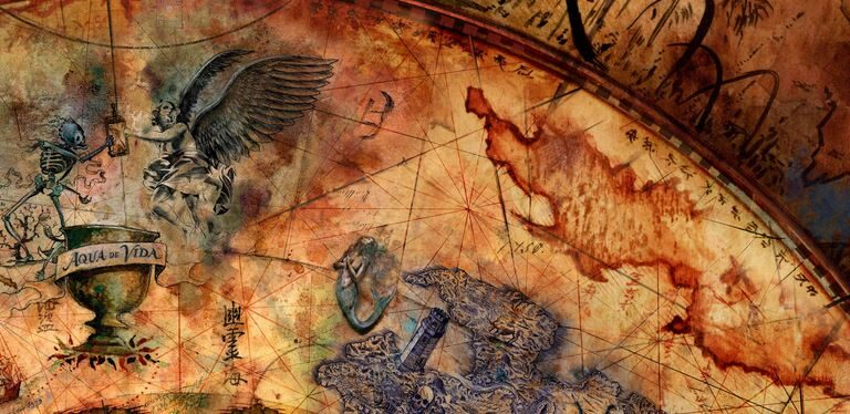 Antediluvian maps: Evidence of advanced civilizations before written history?