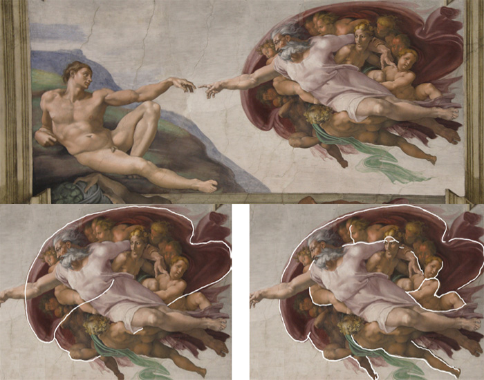 Code Bible Michelangelo