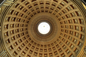 Built in the 2nd century A.D., Rome's Pantheon is still the largest unreiforced concrete dome in the world. (Credit: iStockphoto.com)