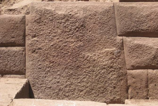 Thirteen-angled Inca stone discovered