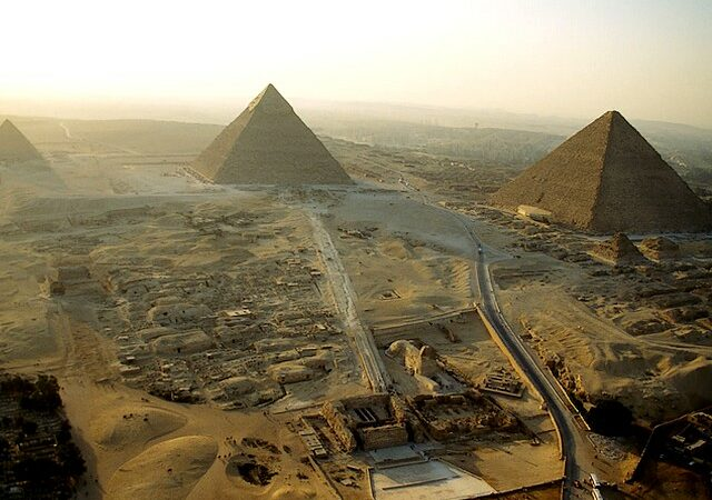 Why did the Ancient Egyptians stop building pyramids?