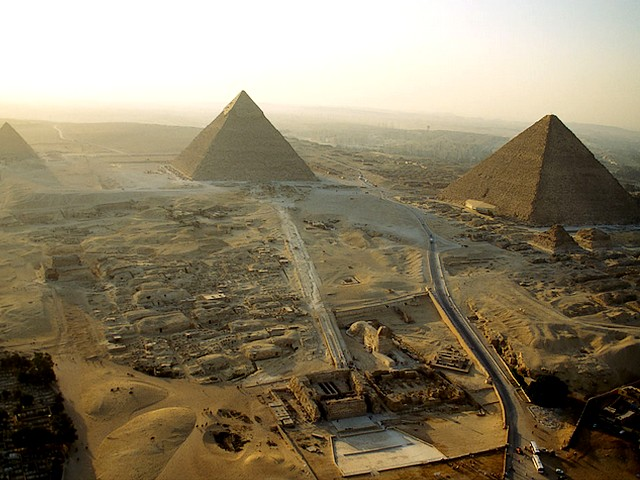 Great-Pyramids-of-Giza-Aerial-View-Cairo-Egypt