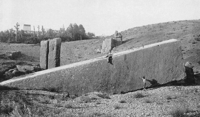 Megaliths of Baalbek: A Colossal Mystery of stones weighing over 1600 tons