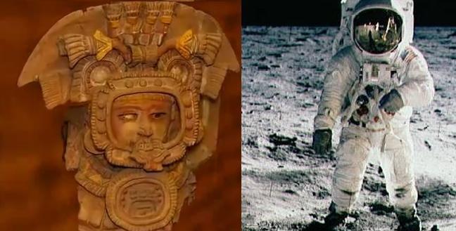 Ancient Alien Astronaut Image