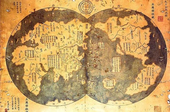 He-bases-his-theory-on-an-alleged-18th-century-copy-of-a-1418-map-charted-by-Chinese-Admiral-Zheng-580x385