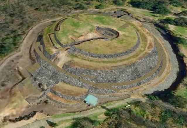 Vista-aérea-de-la-pirámide-de-Cuicuilco