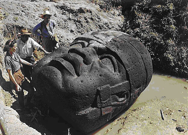 Ancient Olmecs: Survivors of the city-continent of Atlantis?