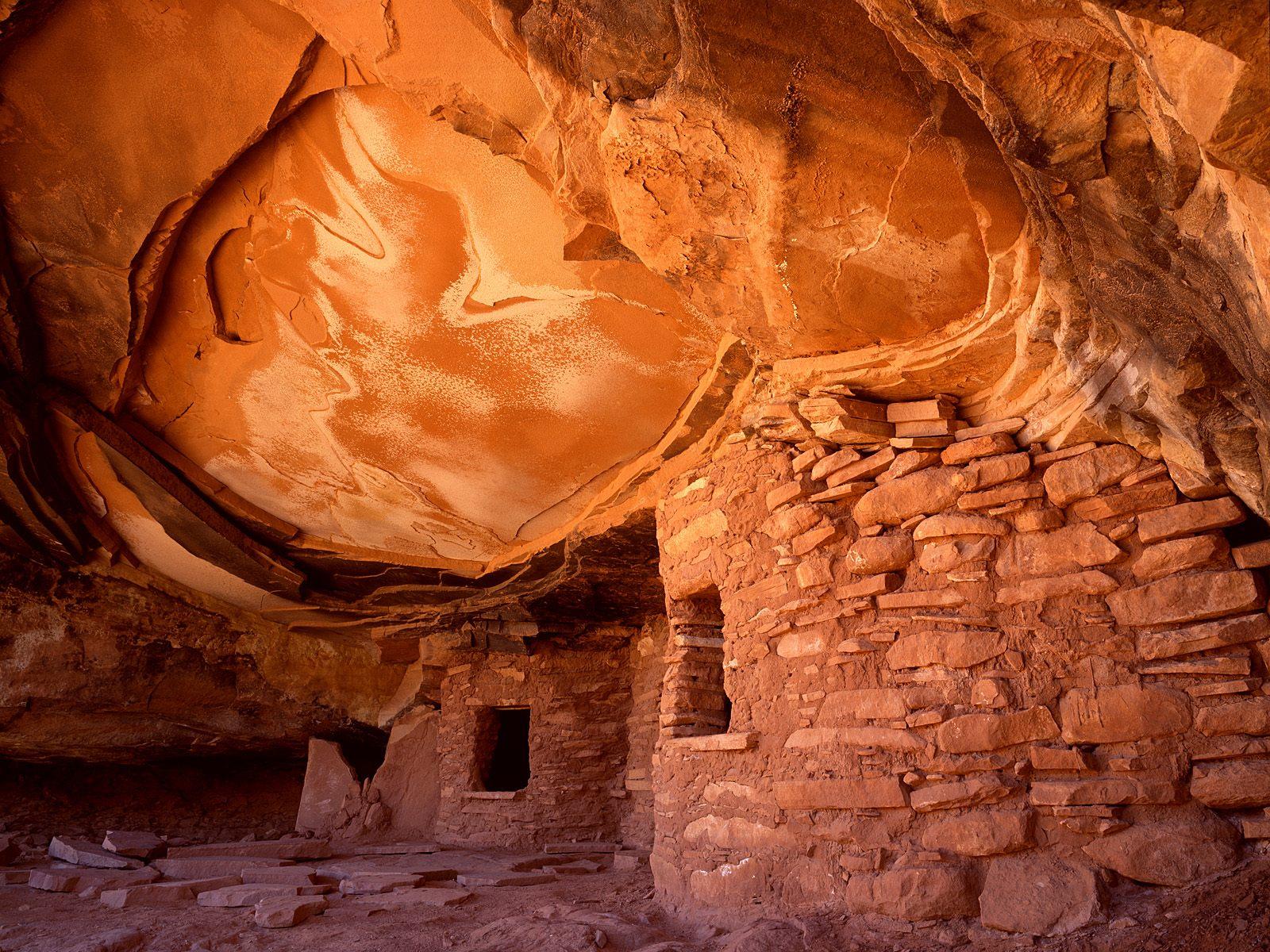 Anasazi Indian Ruins, Cedar Mesa, Utah
