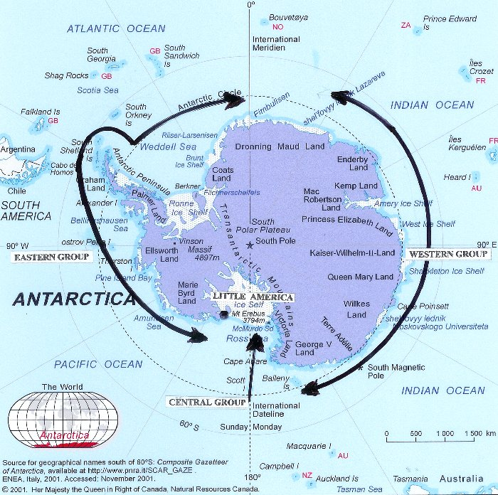Two Underground Bases Found In Antarctica What Are They - Map us milittary bases opened