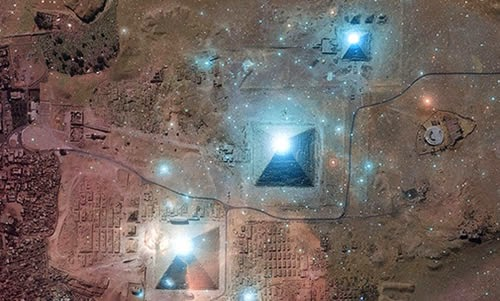 The incredible features of the Great Pyramid of Egypt Correlacic3b3n-oric3b3n-pirc3a1mides