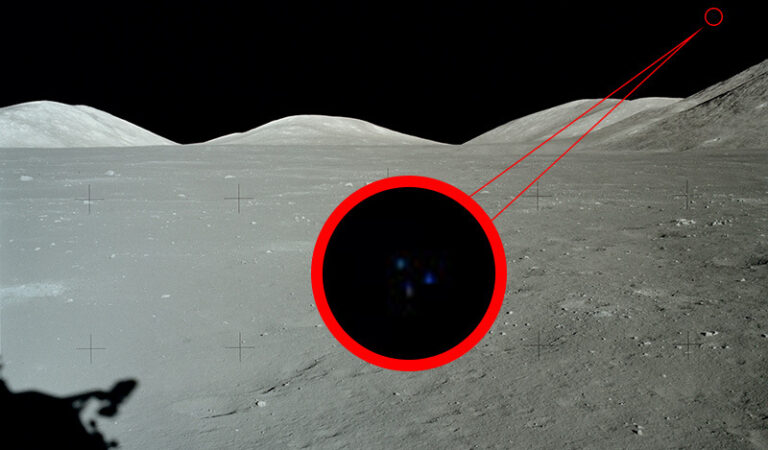 Apollo 17 UFO Image: The Moon Isn't as Desolate As We've Been Told
