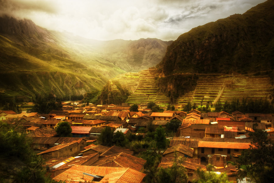 Evidence of Ancient Advanced Technology Ollantaytambo_by_stuzal-d4rlw50