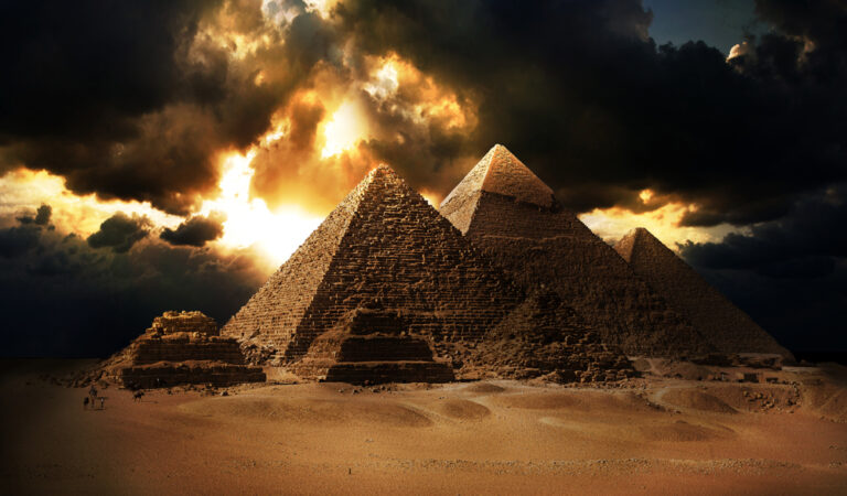 Eery coincidence? The constant of speed of light equals the coordinates of the Great Pyramid of Giza