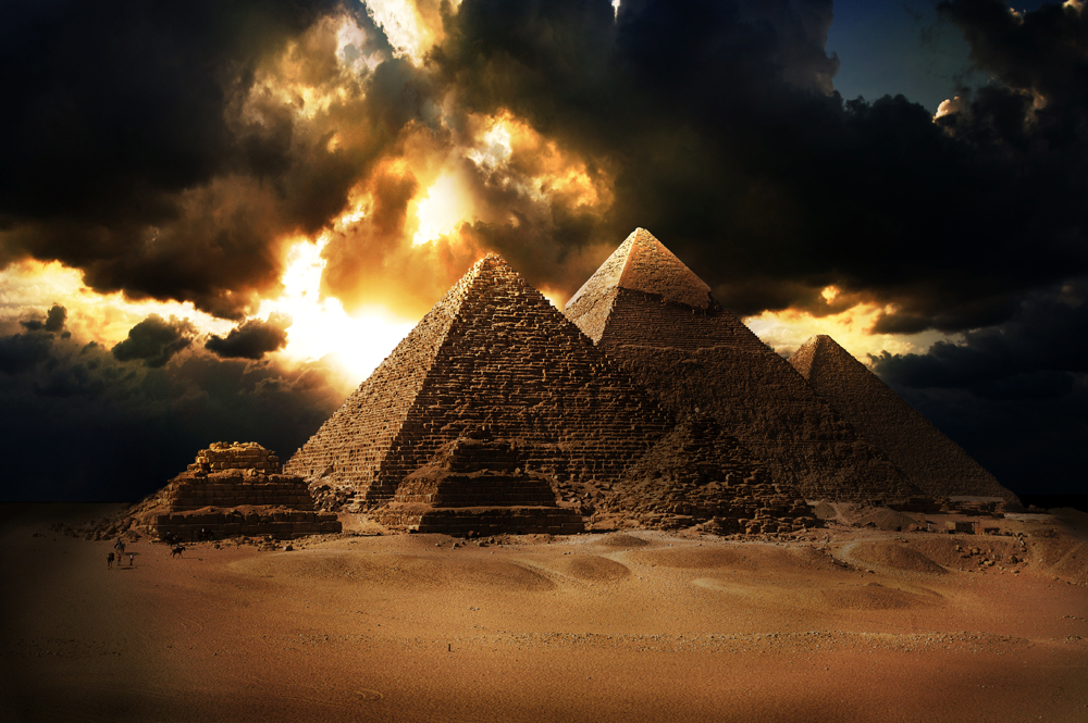 What was the true purpose of the Pyramids?