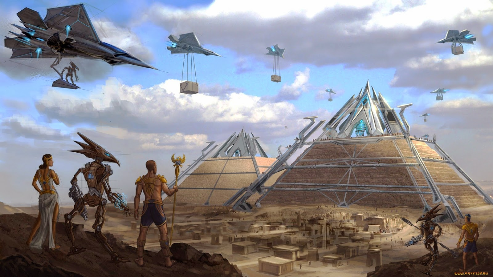 an introduction to the construction of egyptian pyramids