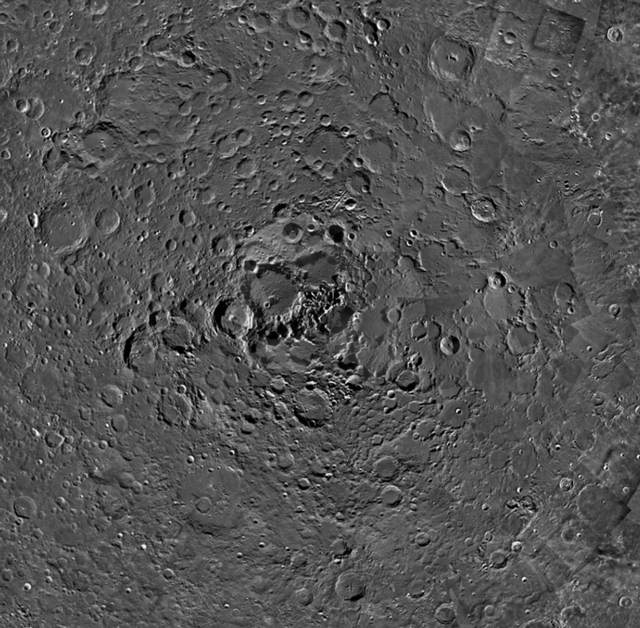 The North Pole of the Moon is a very mysterious place