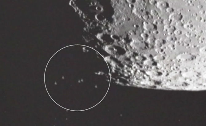 The moon has been highly connected to Alien activity ever since NASA shut down its Apollo program.