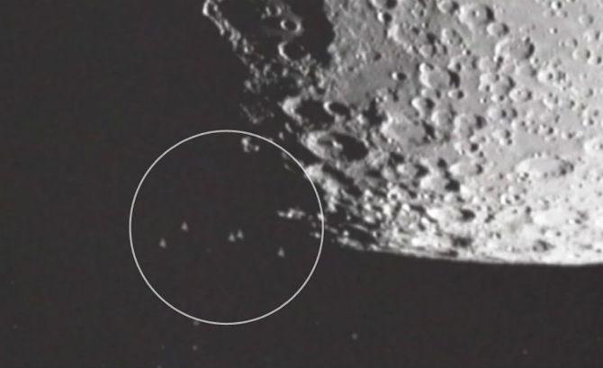 Risultati immagini per Dr. Eric Norton, Huge Fleet Of UFOs solar system