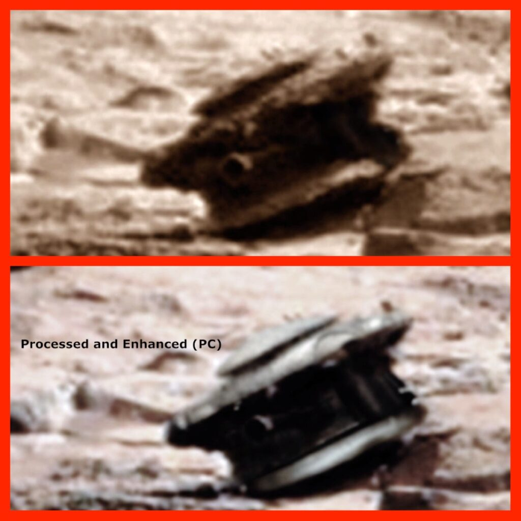 Alien Drone on Mars, Ancient Code, Space, NASA