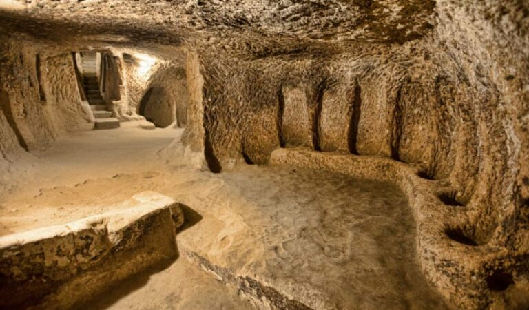 This Giant Ancient Underground City may be the largest in the world