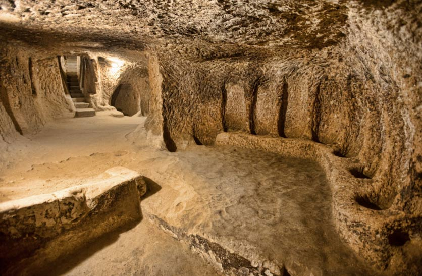 underground city found in Cappadocia