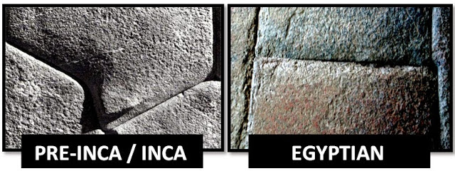 Comparison between Inca and Egyptian stone design