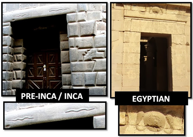Comparison between Inca and Egyptian Masonry
