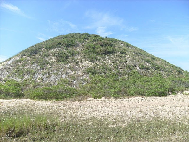 Shell mound or Pyramid? According to researchers these are in fact the oldest known Pyramids on the planet