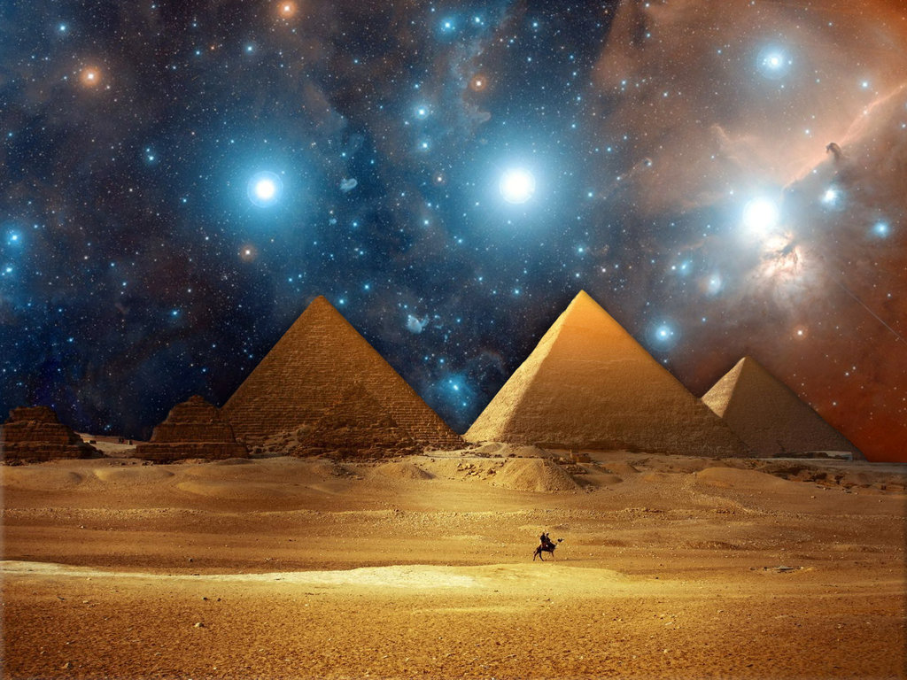 Pyramids Orion Ancient Code