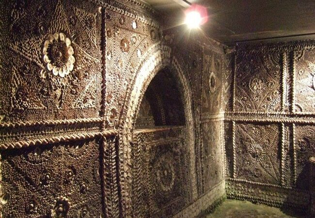 The enigmatic Shell grotto in images