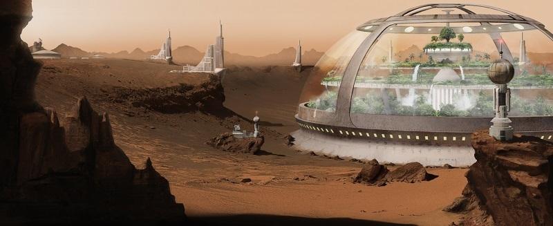Colony on Mars