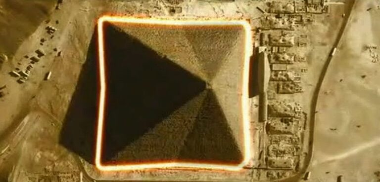 The Great Pyramid of Giza: The only eight-sided Pyramid on Earth