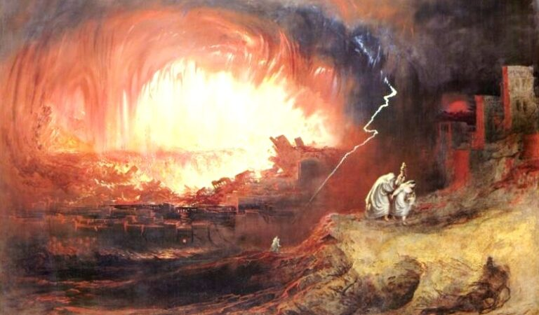 Evidence of Nuclear War in the distant Past: The destruction of Sodom and Gomorrah